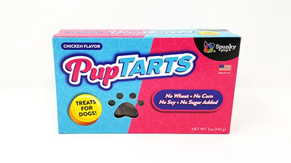 SPUNKY PUP-Pup tarts saveur poulet 142g