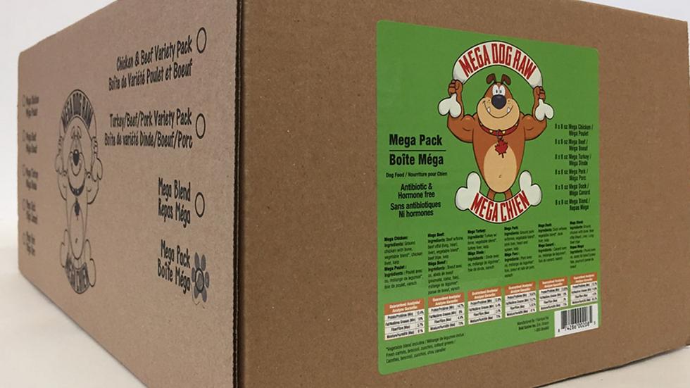 Mega Dog -  Mega Pack Variety 24lbs