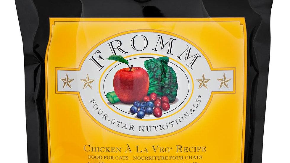 Fromm 4* Chat - Poulet à la veg 2.3 kg