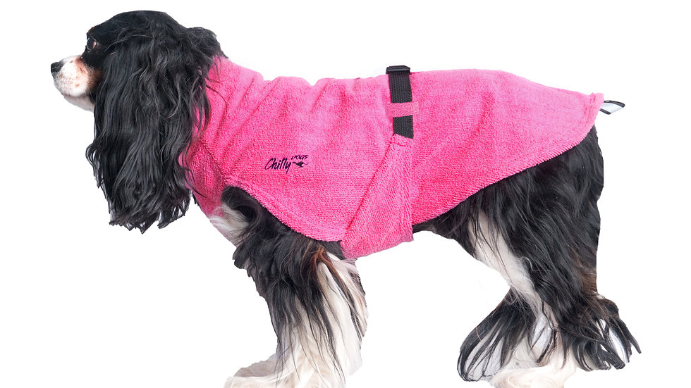 Chilly Dogs - Soaker robe, Bubblegum
