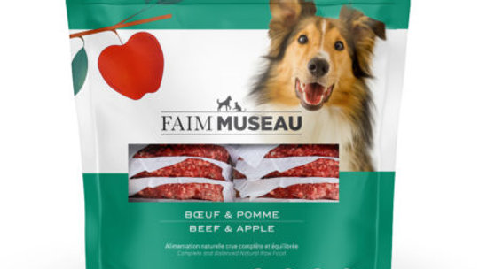 Faim Museau - Boeuf et pommes 6lbs