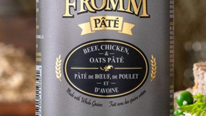 Fromm Paté - Boeuf, poulet & avoine 12 oz