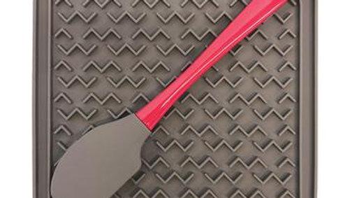 Messy Mutts - Tapis d'alimentation avec spatule