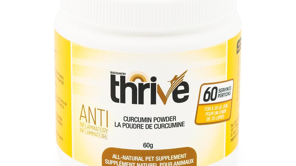 BCR - Thrive, Poudre de curcumin, 60g