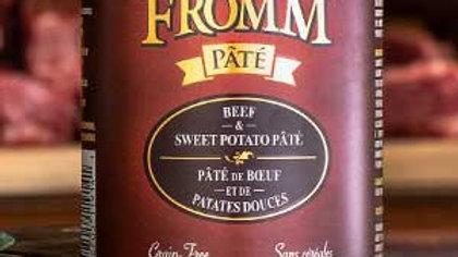 Fromm Paté - Boeuf et patates douces 12 oz