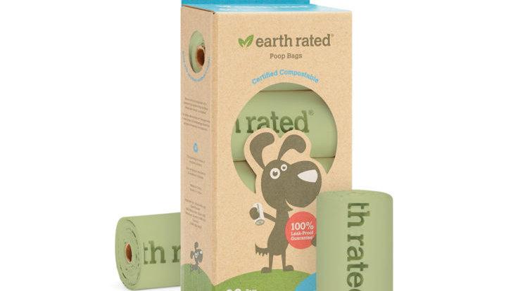 Earth Rated, Sacs Biodégradables, 120 sacs