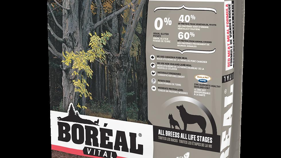 Boréal - Chien, Vital, Viande rouge (11.33kg)