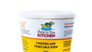 BCR - Pets in the kitchen, Ragoût de poulet et légumes,454g