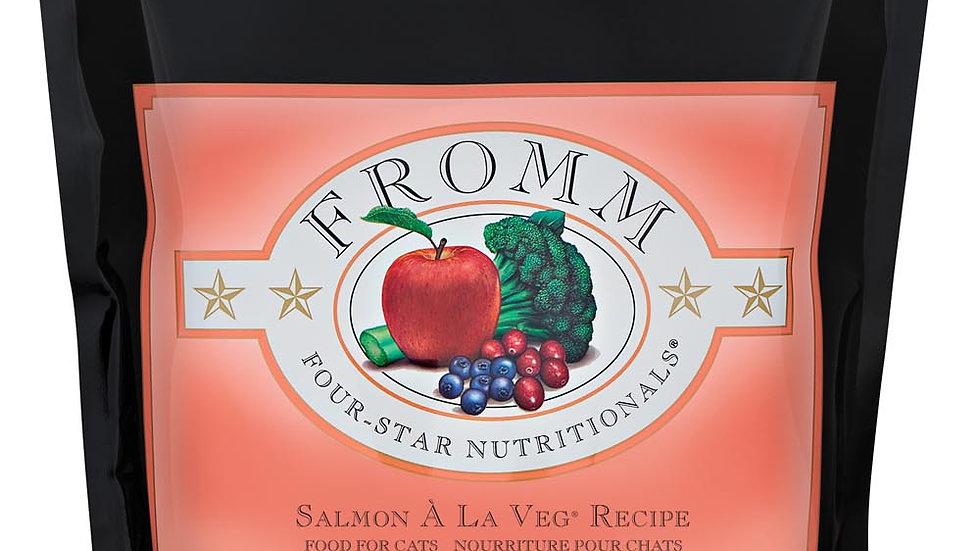 Fromm 4* Chat - Saumon à la veg 2.3 kg