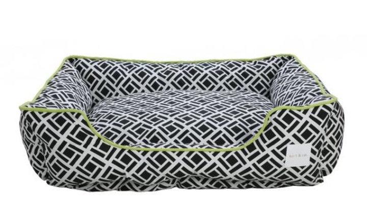 Kort's & Co - Lit Zingle noir et vert 44 x 36 ''