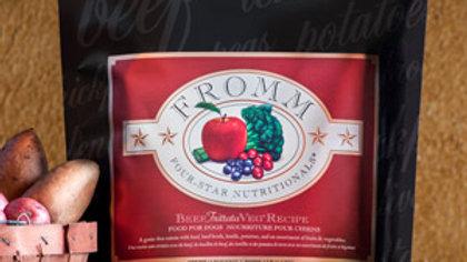 Fromm 4* sans grains - Boeuf 11.8 kg
