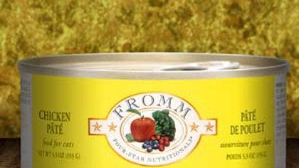 Fromm 4* Paté chat - Poulet 5.5 oz
