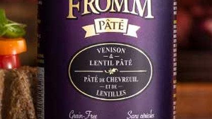 Fromm Paté - Chevreuil et lentilles 12 oz