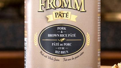 Fromm Paté - Porc & riz brun 12 oz