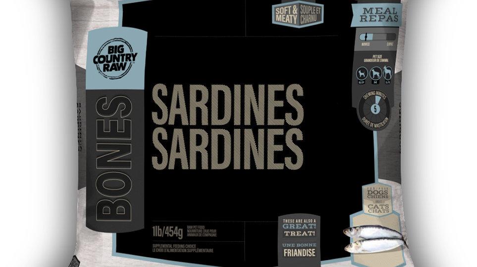 BCR - Sardines sac, 1lbs
