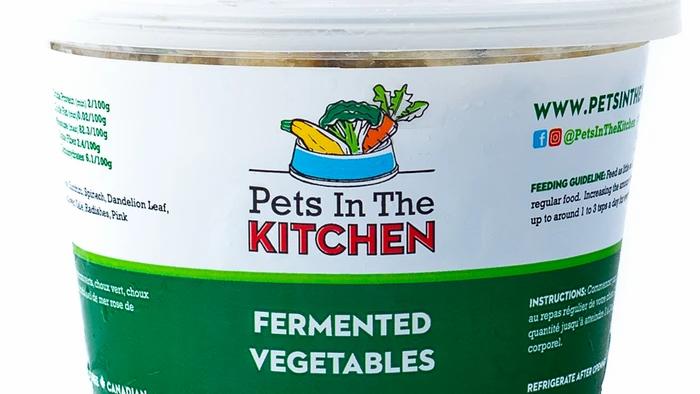 BCR - Pets in the kitchen, Légumes fermentés