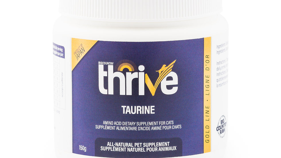 BCR - Thrive, Ligne or taurine, 150g