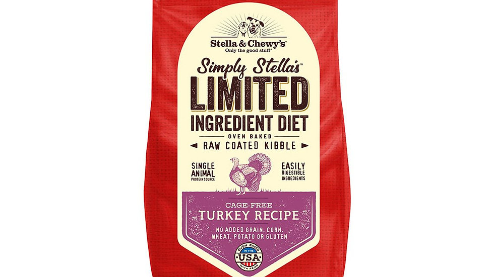 Stella & Chewy's - Cage free, Dinde, (3.5lbs)