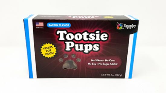 SPUNKY PUP TOOTSIE Pups Bacon 142g