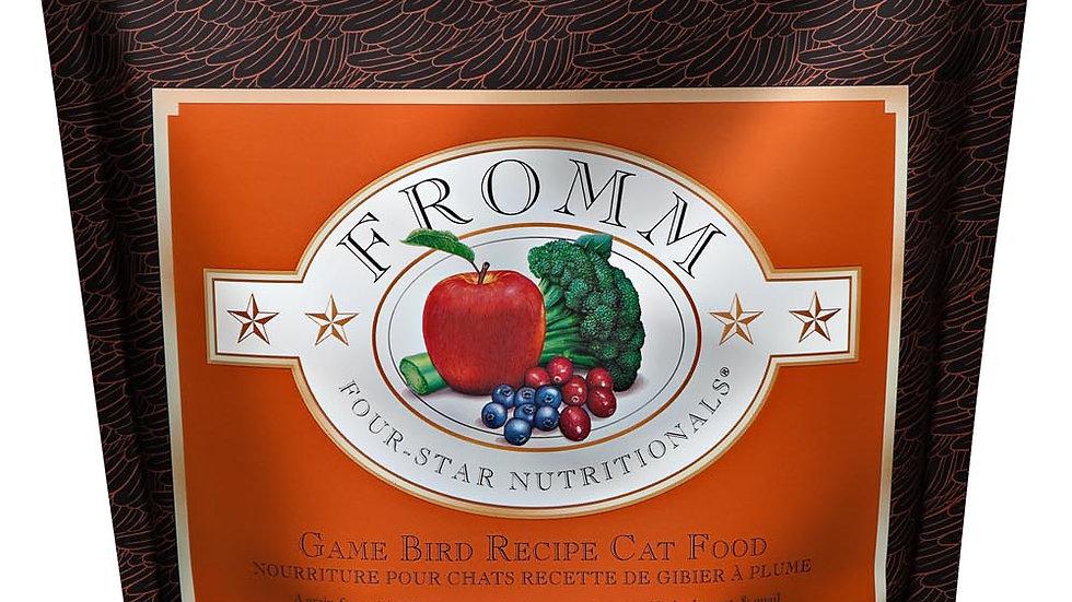 Fromm 4* Chats sans grain- Gibier 0.9 kg