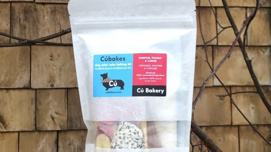 CÚ BAKERY - CÚBAKES Ensemble de cuisson de mini gâteau pour chien