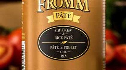 Fromm Paté - Poulet & riz 12 oz
