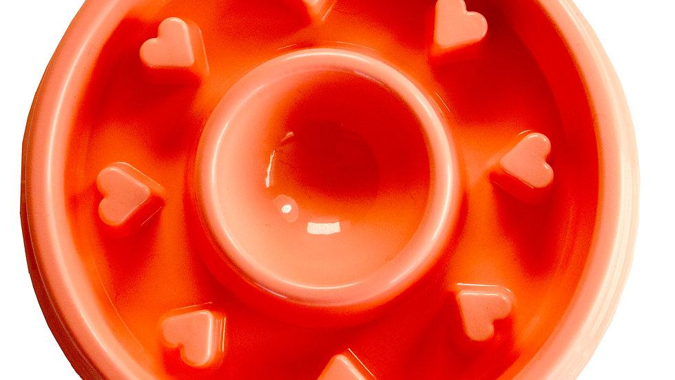 Schum Tug - Bol ralentisseur rose avec coeur