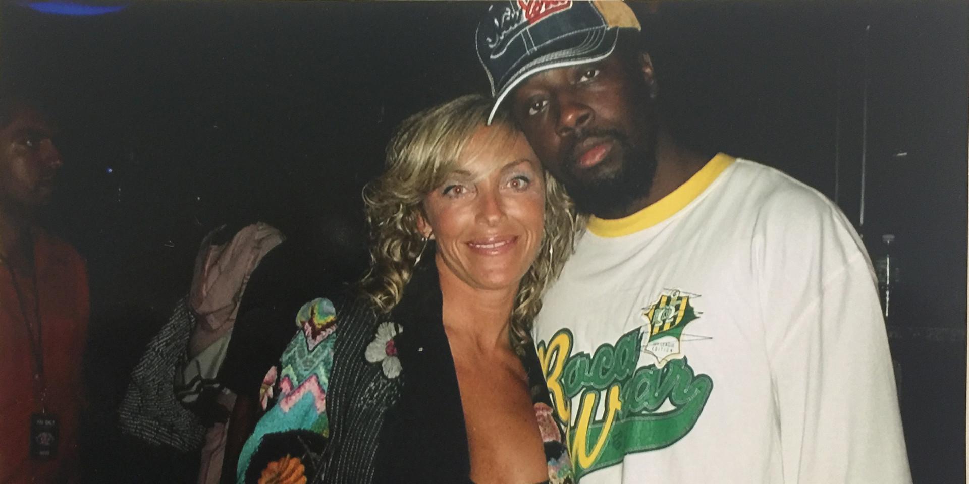 Wyclef y Sara Raya