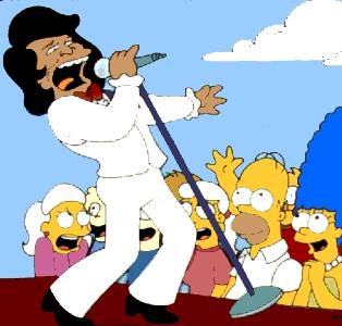James Brown y Los Simpson