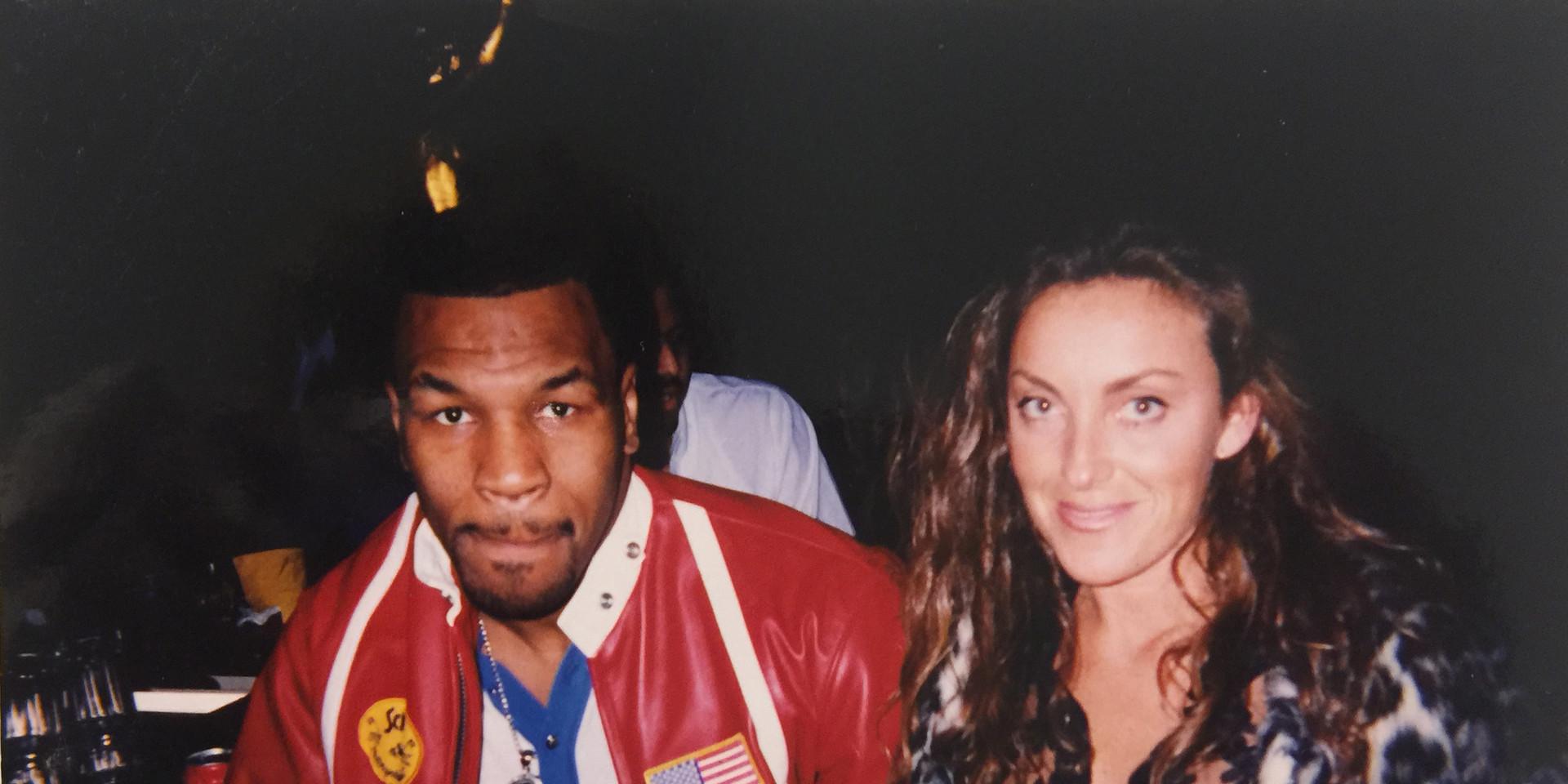 Mike Tyson y Sara Raya