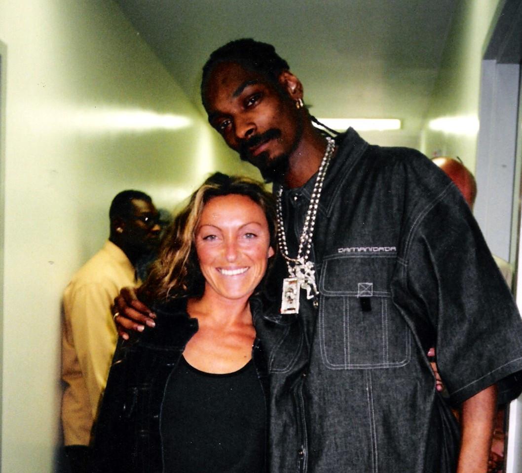 Snoop Dog y Sara Raya