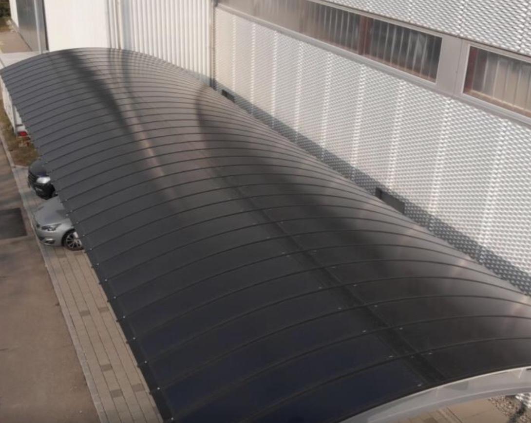 eFlex light-bearing roof