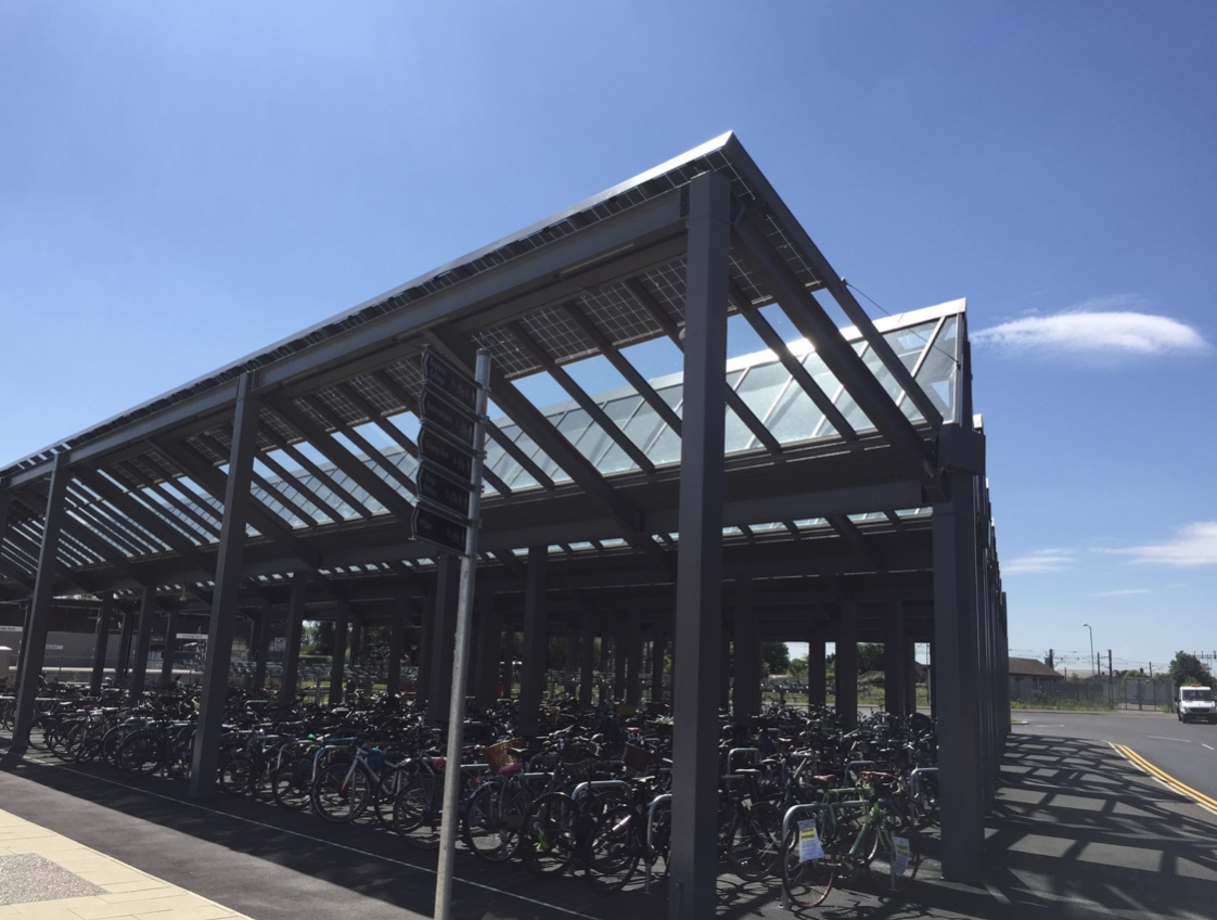 Cambridge Station Cycle Park
