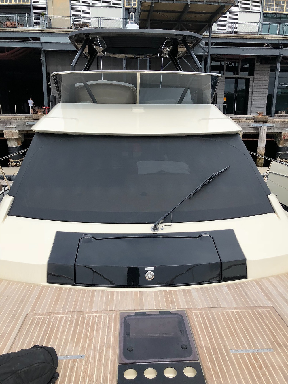 Mote Carlo Windscreen Covers - Marine Trimming Sydney