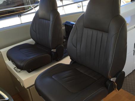 Marine Upholstery - Helm Chairs