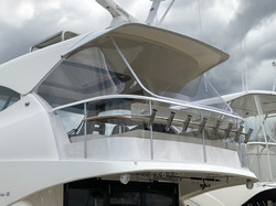 Maritimo Flybridge Clears made in Strata