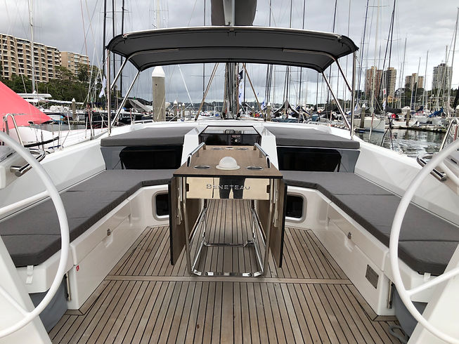 Beneteau 51.1 Spray Dodger and Upholster