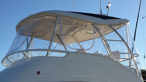 Boat Clears -Riviera Flybridge Clears