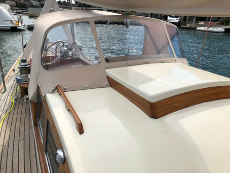 Spray Dodger Wooden Boat