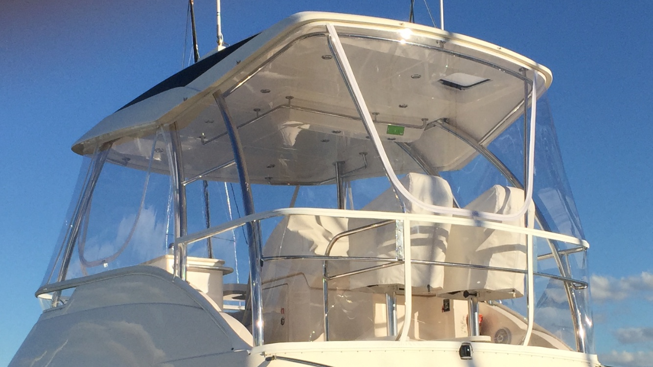 Riviera Flybridge Clears made in Stratag