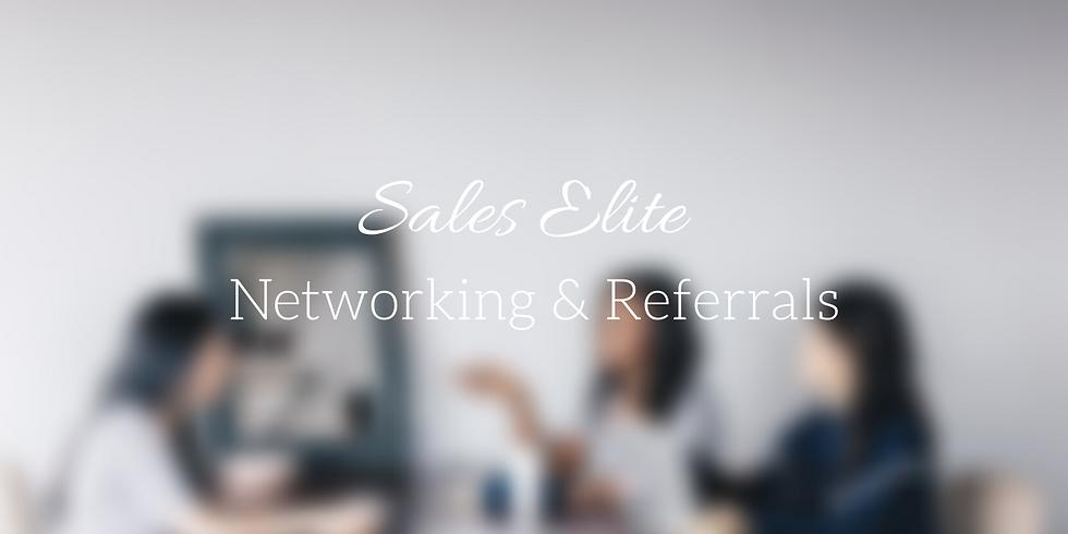 Sales Elite Workshop // Networking & Referrals