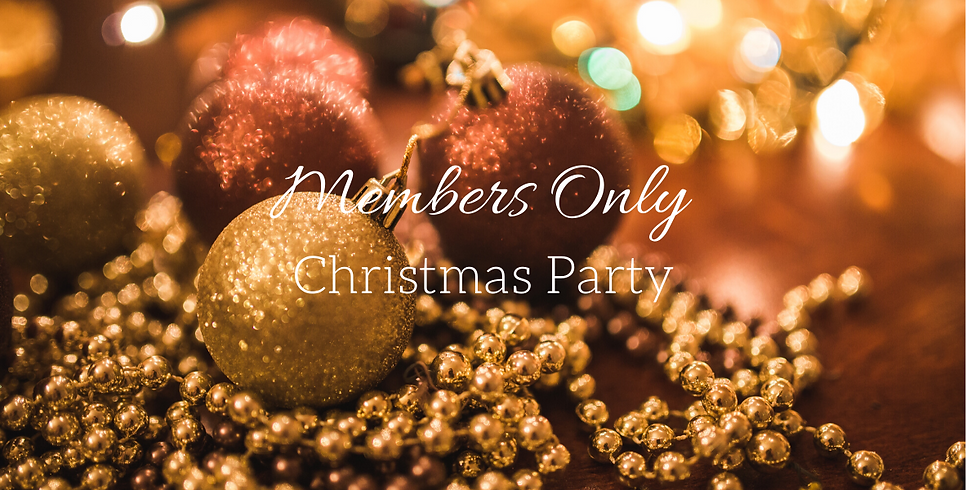 Members Christmas Party!