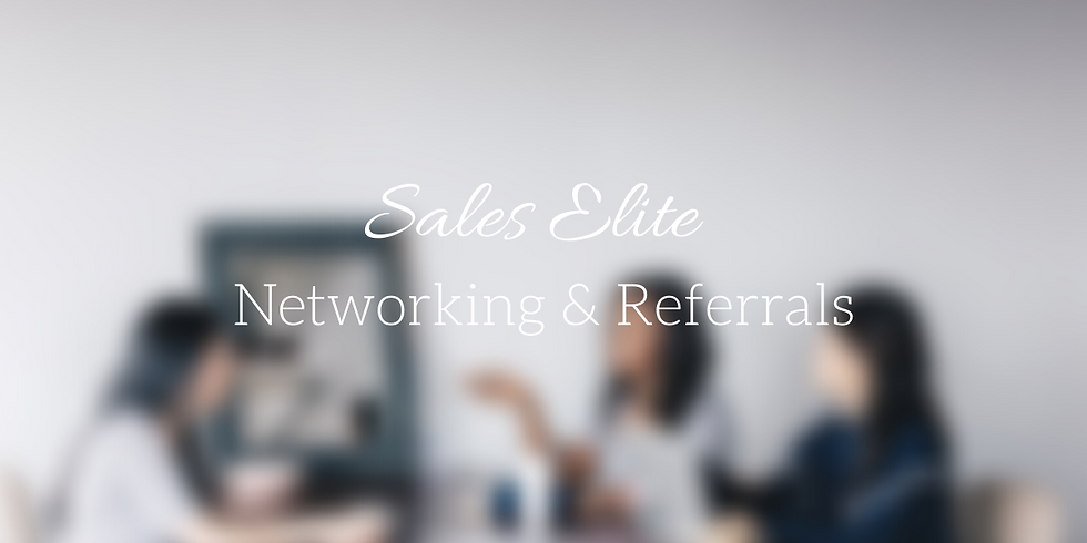 Learn the Art of Networking and Referrals