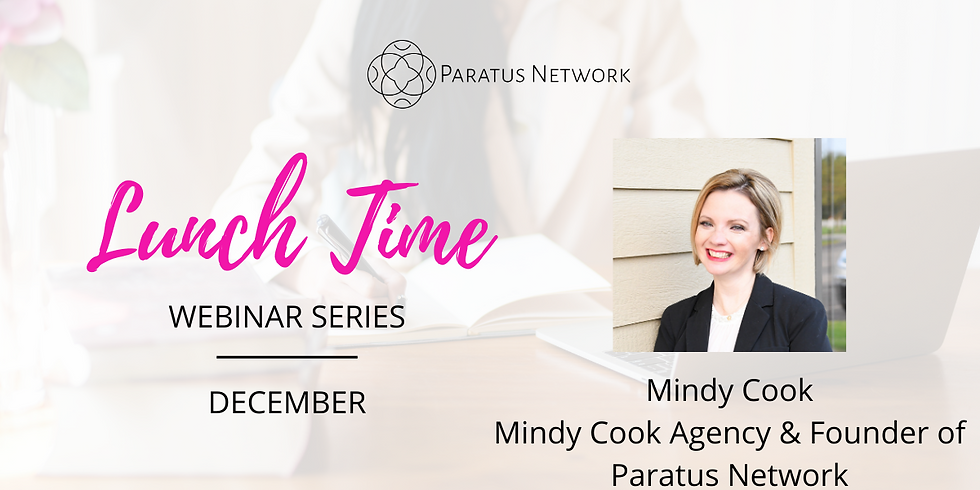"""Lunchtime Webinar Series - """"How To Keep Your Sanity In These Times"""""""