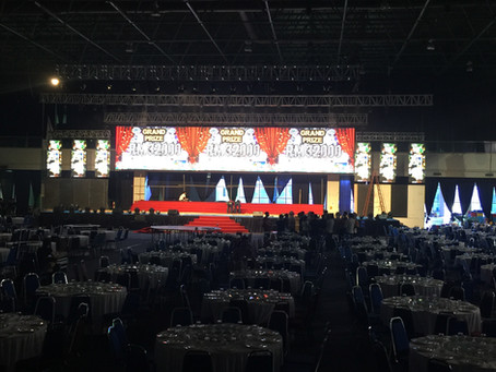 First ever 8000 pax Corporate Event