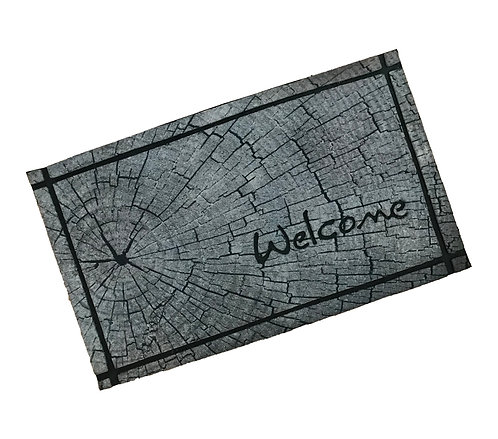 Ecomat Outdoors Tree Trunk Welcome Mat