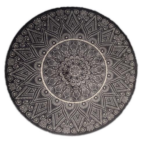 Decorative Wash Mat - Circle Mandala