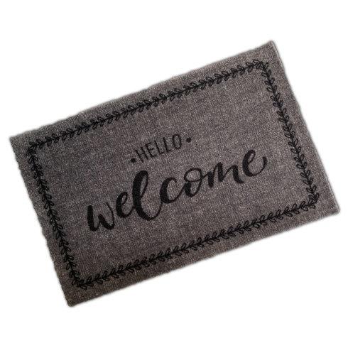 Decorative Wash Mat - Hello Welcome
