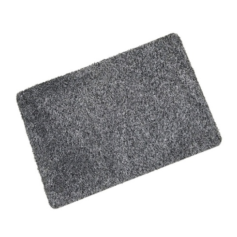Grey Cotton Wash Mat