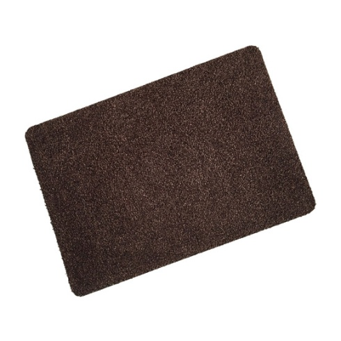Brown Cotton Wash Mat